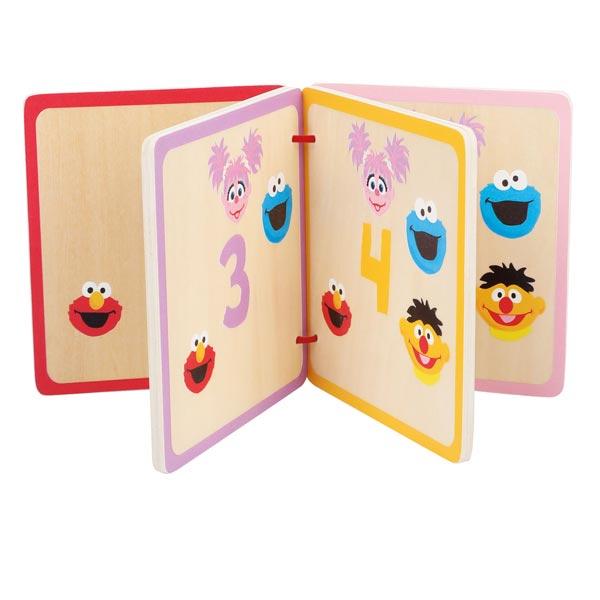 libro numeri legno