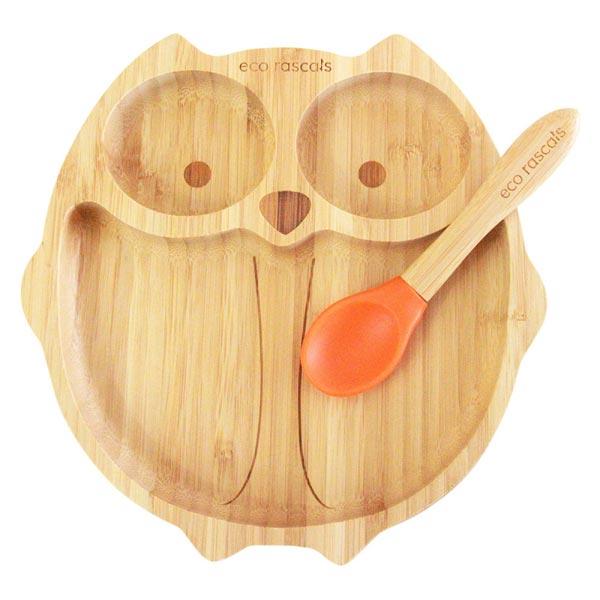 piatto bamboo civetta