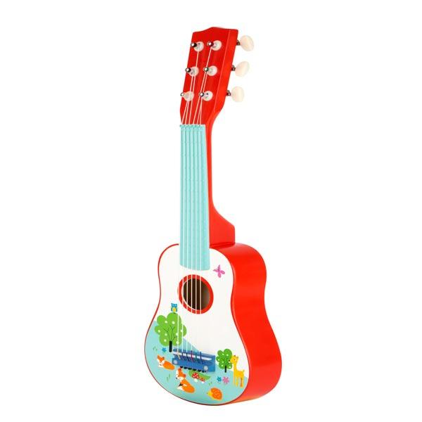 chitarra giocattolo legno