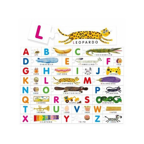 alfabeto tattile