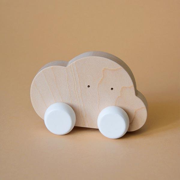 nuvoletta in legno