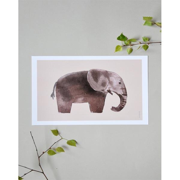 stampa elefante per cameretta