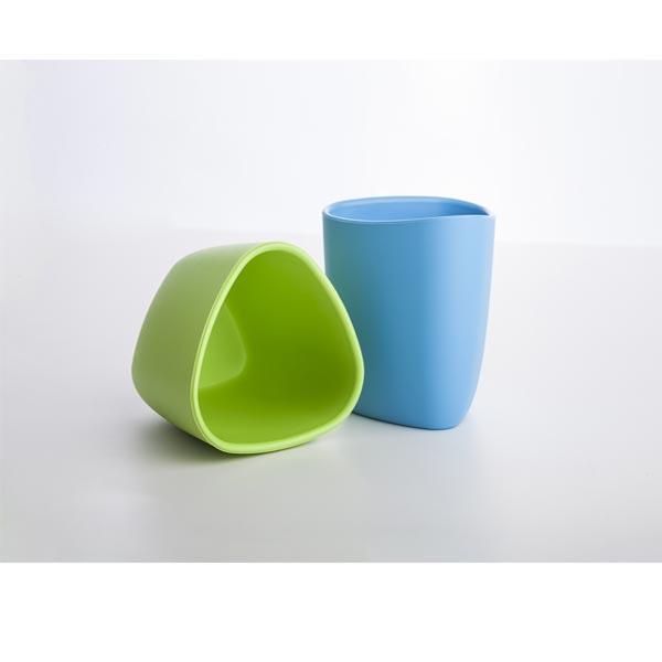 bicchieri azzurro verde